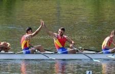 Aur și argint pentru canotorii călărășeni la Campionatele Europene din Belgia