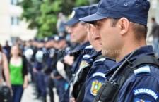 """Jandarmii asigură măsurile de ordine publică la """"Flori de Mai"""" şi """"Ziua Sportului"""""""