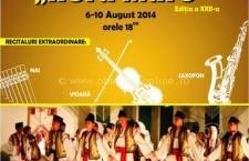 """Miercuri, 6 august, începe Festivalul Internaţional de Folclor """"Hora Mare"""""""