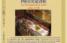 04-07 septembrie 2014 – Procesiune cu sfintele moaşte ale Sfintei Muceniţe Filofteia de la Curtea de Argeş