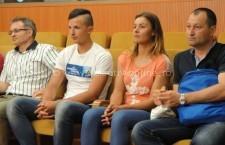 Tinerii canotori Alexandru Chioseaua şi Georgiana Vasile, Campionii Călăraşiului