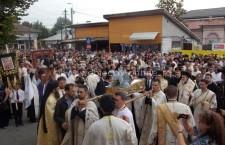 Mii de călărăşeni prezenţi la procesiunea Sfintelor Moaşte ale Sfintei Muceniţe Filofteia / GALERIE FOTO