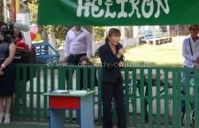 Călăraşi / Monica Macovei, prezentă la deschiderea anului şcolar de la Helikon