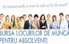 AJOFM Călăraşi / 26 septembrie – Bursa locurilor de muncă pentru absolvenții promoției 2014