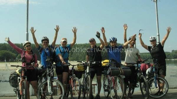 A început Turul Dunării pe bicicletă / Startul s-a dat din Călăraşi