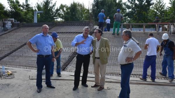 Primarul Drăgulin inspectează lucrările din municipiul Călăraşi