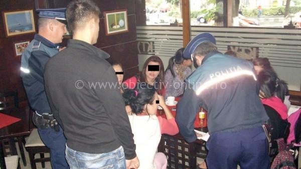 Lehliu–Gară/Elevi depistaţi în baruri de poliţişti