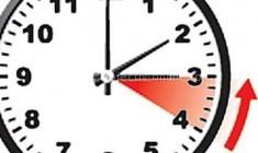 România trece în acest weekend la ora de iarnă/Ora 4,00 devine ora 3,00