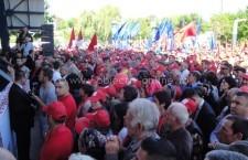 Călărași/Marș al PSD-UNPR-PC pentru susținerea lui Victor Ponta