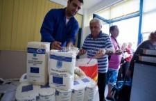 Ajutoarele alimentare din UE, distribuite după alegeri