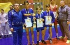 CSM Călăraşi / Palmaresul luptătorilor a mai adunat trei medalii de aur şi una de bronz