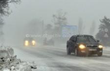 Recomandări pentru un trafic rutier în condiţii de iarnă