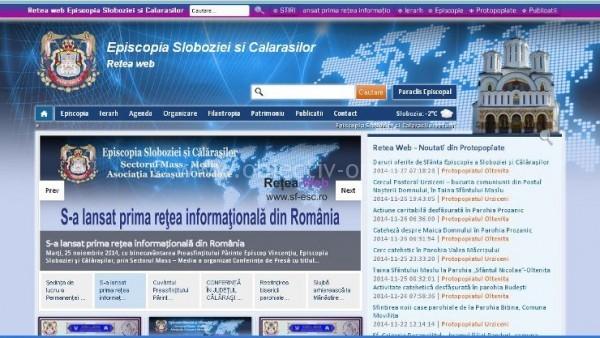 Biserica, în pas cu tehnologia/ Episcopia Sloboziei şi Călăraşilor şi-a lansat prima reţea informaţională ortodoxă din România