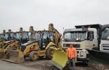 59 de utilaje vor fi pregătite pentru deszăpezire în municipiul Călărași