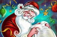 Programul lui Moş Crăciun de la căsuţa amenajată în centrul oraşului