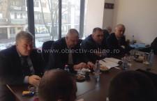 Drăgulin s-a întâlnit cu șefii UNPR din Regiunea Sud Muntenia, la Giurgiu