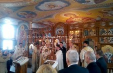Călărași/Slujbă arhierească săvârșită de PS Vincențiu, la Biserica Sf. Ier. Nifon