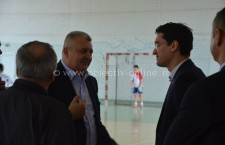 Primarul Drăgulin a salutat prezenţa la Călăraşi a preşedintelui FRF, Răzvan Burleanu