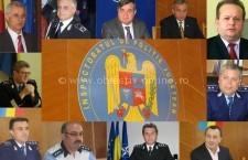 Poliţiştii care au condus IPJ Călăraşi din 89 până în prezent