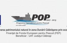 """Implementarea proiectului """"Promovarea patrimoniului natural în zona Dunării Călăraşene prin eco-turism"""" a ajuns la final"""