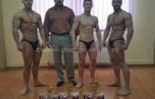 Bogdan Duţă şi Casian Ciută, vicecampioni naţionali la CN de Culturism Juniori de la Iaşi