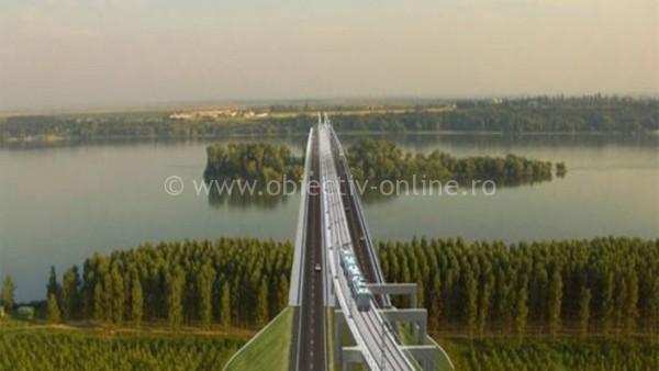 Viitorul pod dintre Călăraşi şi Silistra depinde de construirea unui culoar de drum european pe teritoriul Bulgariei şi României