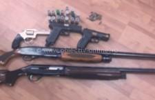 Ulmu/ Patru arme şi trei pistoale, plus muniţie aferentă, confiscate de poliţişti de la un deţinător ilegal