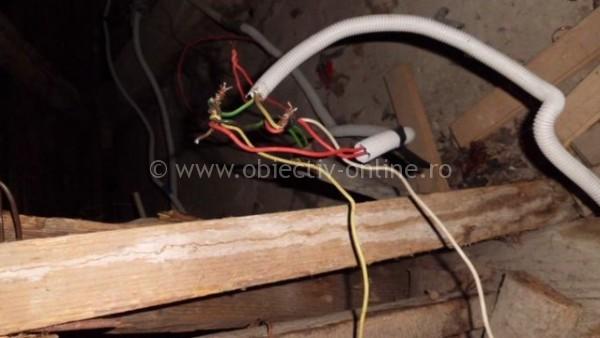 Jandarmii şi lucrătorii Enel au acţionat pentru combaterea furturilor de energie electrică