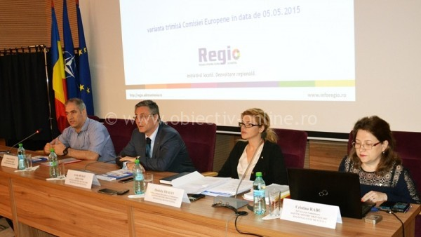 Întâlnire de lucru cu autorităţile publice locale din judeţul Călăraşi, privind oportunităţile de finanţare din POR 2014 – 2020