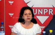 Camelia Croitoru, vicepreşedinte şi coordonator pe regiune al Organizaţiei de Femei UNPR