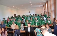 Promoția 2015 a USAMV-Filiala Călărași, la cursul festiv de absolvire