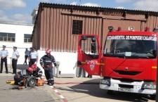 ISU Călăraşi/Serviciile voluntare şi private pentru situaţii de urgenţă se întrec în cadrul concursurilor profesionale
