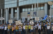 PNL Călăraşi/Miting împotriva lui Ponta