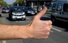 Legea care interzice autostopul se aplică de astăzi