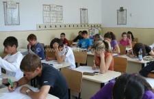 Evaluarea Națională 2015/A început examenul pentru elevii de clasa a 8-a