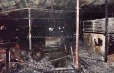 Călărași/Un cort de nunți, aflat pe Varianta Nord, a ars în întregime