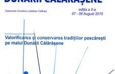 Călărași/Festivalul Dunării Călărășene, ediţia a II-a, 07 – 08 August 2015