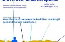 FESTIVALUL DUNĂRII CĂLĂRĂŞENE/ Regulamentul proiectului și fișele de înscriere la concursuri