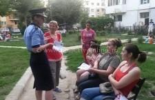 Polițiștii călărășeni de la proximitate continuă acțiunile de informare pentru prevenirea furturilor