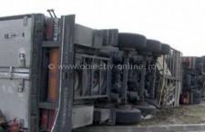 Accident pe Autostrada Soarelui. A2 este blocată la km 123