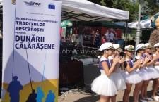 Festivalul Dunării Călărășene/Distracție cu cercetași, mascote și concursuri pentru copii