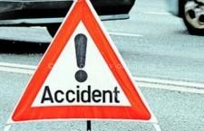 Cinci accidente rutiere în trei zile