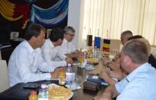 Ambasadorul Bulgariei la Bucureşti, în vizită la Primăria Călăraşi