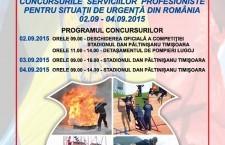 Pompierii călărășeni vor fi prezenți la faza naţională a Concursurilor Profesionale ale Serviciilor pentru Situaţii de Urgenţă
