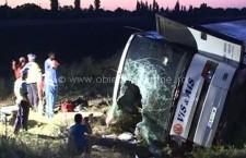 Grav accident de circulație pe A2