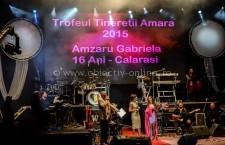 """Artista călărășeană Gabriela Amzaru a câștigat """"Trofeul Tinereții"""" de la Amara"""