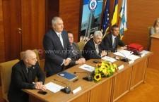 Zilele Municipiului Călăraşi 2015/Şedinţa solemnă a Consiliului Local