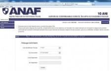 ANAF/Noutăţi despre spaţiul privat virtual