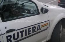 Cercetat pentru infracţiuni rutiere/Bărbatul, care nu posedă permis, a încercat să se se sustragă controlului poliţiştilor