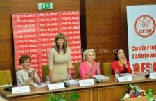Roxana Natalia Paţurcă a fost realeasă în funcţia de preşedinte al OFSD Călăraşi